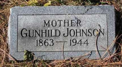 JOHNSON, GUNHILD - Yankton County, South Dakota   GUNHILD JOHNSON - South Dakota Gravestone Photos