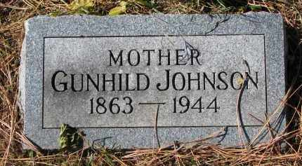JOHNSON, GUNHILD - Yankton County, South Dakota | GUNHILD JOHNSON - South Dakota Gravestone Photos