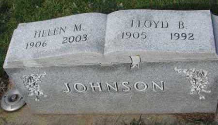 JOHNSON, HELEN M. - Yankton County, South Dakota | HELEN M. JOHNSON - South Dakota Gravestone Photos