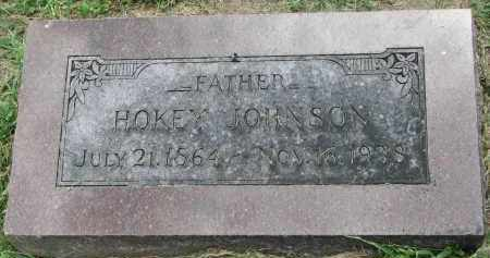 JOHNSON, HOKEY - Yankton County, South Dakota | HOKEY JOHNSON - South Dakota Gravestone Photos