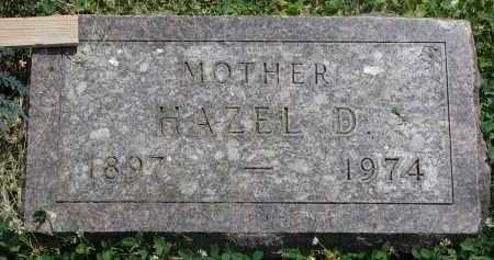 JOHNSON, HAZEL D. - Yankton County, South Dakota | HAZEL D. JOHNSON - South Dakota Gravestone Photos