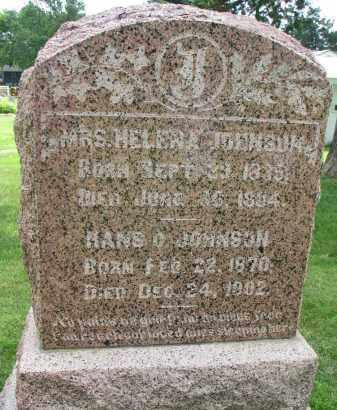 JOHNSON, HANS D. - Yankton County, South Dakota | HANS D. JOHNSON - South Dakota Gravestone Photos