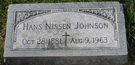 JOHNSON, HANS - Yankton County, South Dakota | HANS JOHNSON - South Dakota Gravestone Photos