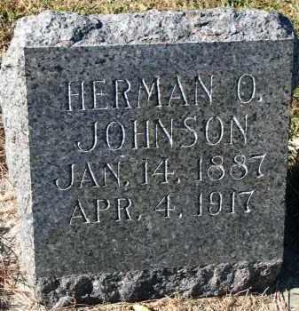 JOHNSON, HERMAN O. - Yankton County, South Dakota | HERMAN O. JOHNSON - South Dakota Gravestone Photos