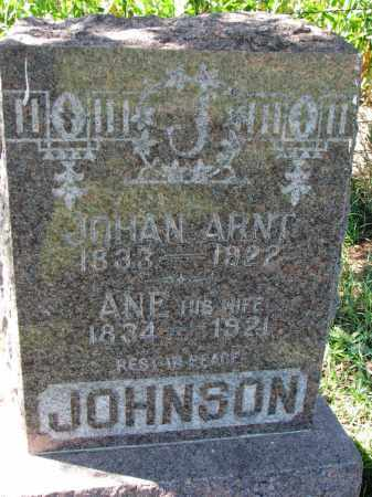 JOHNSON, ANE - Yankton County, South Dakota | ANE JOHNSON - South Dakota Gravestone Photos