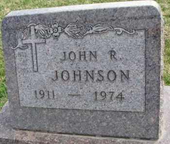 JOHNSON, JOHN R. - Yankton County, South Dakota   JOHN R. JOHNSON - South Dakota Gravestone Photos