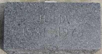 JOHNSON, JULIA - Yankton County, South Dakota | JULIA JOHNSON - South Dakota Gravestone Photos