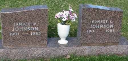 JOHNSON, JANICE M. - Yankton County, South Dakota   JANICE M. JOHNSON - South Dakota Gravestone Photos