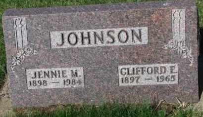 JOHNSON, JENNIE M. - Yankton County, South Dakota | JENNIE M. JOHNSON - South Dakota Gravestone Photos