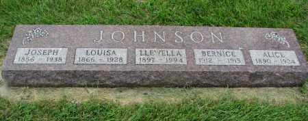 JOHNSON, BERNICE - Yankton County, South Dakota | BERNICE JOHNSON - South Dakota Gravestone Photos