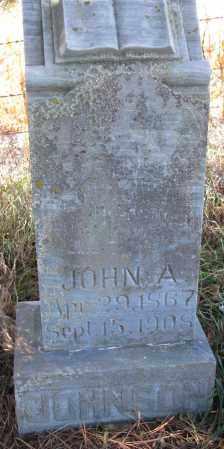 JOHNSON, JOHN A. - Yankton County, South Dakota   JOHN A. JOHNSON - South Dakota Gravestone Photos