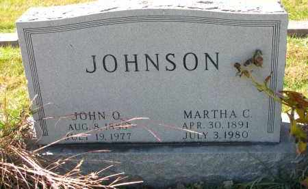 JOHNSON, JOHN O. - Yankton County, South Dakota | JOHN O. JOHNSON - South Dakota Gravestone Photos