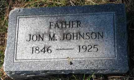 JOHNSON, JON M. - Yankton County, South Dakota | JON M. JOHNSON - South Dakota Gravestone Photos
