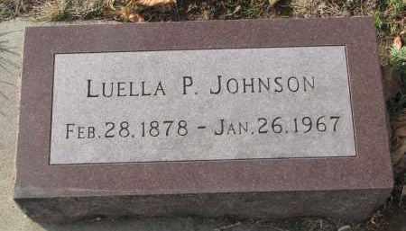 JOHNSON, LUELLA P. - Yankton County, South Dakota | LUELLA P. JOHNSON - South Dakota Gravestone Photos