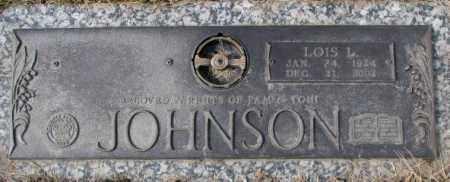 JOHNSON, LOIS L. - Yankton County, South Dakota   LOIS L. JOHNSON - South Dakota Gravestone Photos