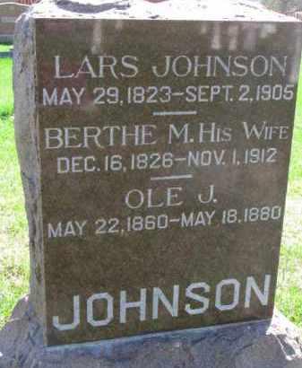 JOHNSON, OLE J. - Yankton County, South Dakota   OLE J. JOHNSON - South Dakota Gravestone Photos