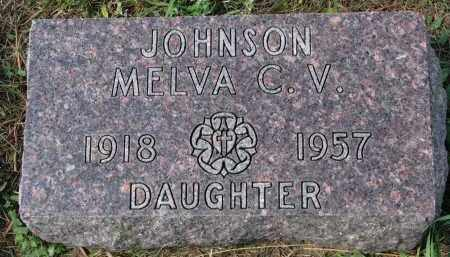 JOHNSON, MELVA C.V. - Yankton County, South Dakota | MELVA C.V. JOHNSON - South Dakota Gravestone Photos