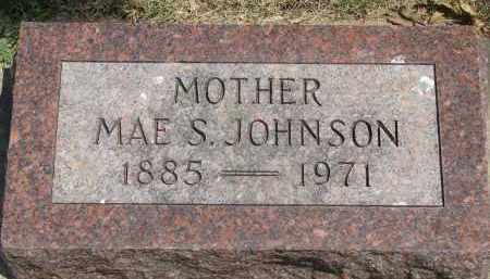 JOHNSON, MAE S. - Yankton County, South Dakota   MAE S. JOHNSON - South Dakota Gravestone Photos
