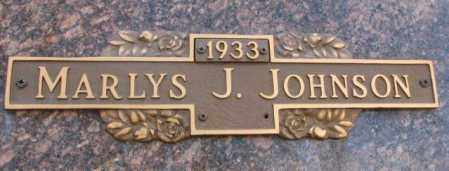 JOHNSON, MARLYS J. - Yankton County, South Dakota | MARLYS J. JOHNSON - South Dakota Gravestone Photos