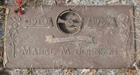 JOHNSON, MABEL M. - Yankton County, South Dakota | MABEL M. JOHNSON - South Dakota Gravestone Photos
