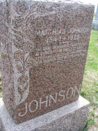 JOHNSON, MATTHIAS - Yankton County, South Dakota | MATTHIAS JOHNSON - South Dakota Gravestone Photos