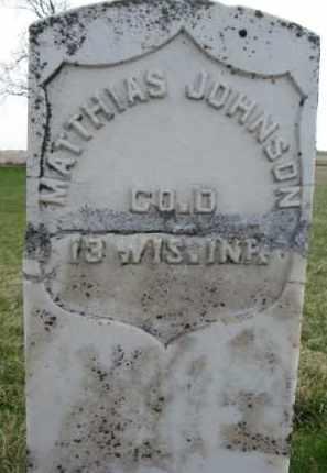 JOHNSON, MATTHIAS (MILITARY) - Yankton County, South Dakota   MATTHIAS (MILITARY) JOHNSON - South Dakota Gravestone Photos