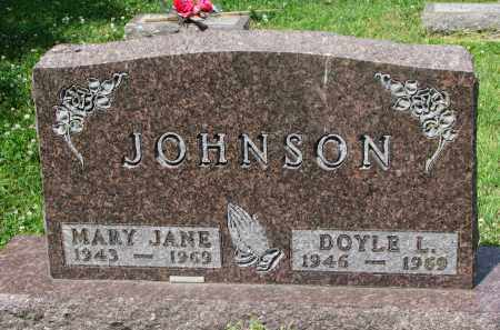 JOHNSON, MARY JANE #1 - Yankton County, South Dakota | MARY JANE #1 JOHNSON - South Dakota Gravestone Photos