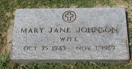 JOHNSON, MARY JANE #2 - Yankton County, South Dakota | MARY JANE #2 JOHNSON - South Dakota Gravestone Photos