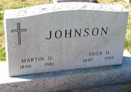 JOHNSON, MARTIN O. - Yankton County, South Dakota | MARTIN O. JOHNSON - South Dakota Gravestone Photos