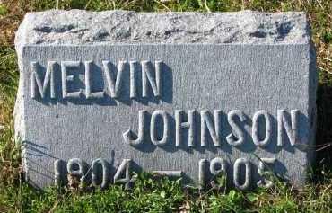 JOHNSON, MELVIN - Yankton County, South Dakota | MELVIN JOHNSON - South Dakota Gravestone Photos
