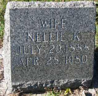 JOHNSON, NELLIE K. - Yankton County, South Dakota   NELLIE K. JOHNSON - South Dakota Gravestone Photos