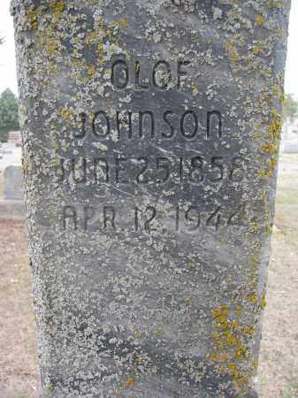 JOHNSON, OLOF (CLOSEUP) - Yankton County, South Dakota | OLOF (CLOSEUP) JOHNSON - South Dakota Gravestone Photos