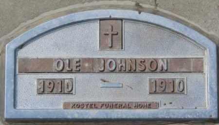 JOHNSON, OLE - Yankton County, South Dakota   OLE JOHNSON - South Dakota Gravestone Photos