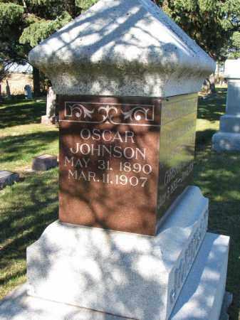 JOHNSON, OSCAR - Yankton County, South Dakota   OSCAR JOHNSON - South Dakota Gravestone Photos