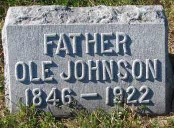JOHNSON, OLE - Yankton County, South Dakota | OLE JOHNSON - South Dakota Gravestone Photos