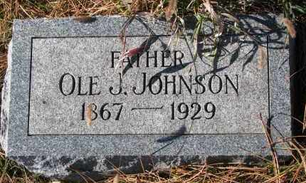 JOHNSON, OLE J. - Yankton County, South Dakota | OLE J. JOHNSON - South Dakota Gravestone Photos