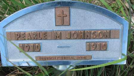JOHNSON, PEARLE M. - Yankton County, South Dakota | PEARLE M. JOHNSON - South Dakota Gravestone Photos
