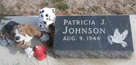 JOHNSON, PATRICIA J. - Yankton County, South Dakota | PATRICIA J. JOHNSON - South Dakota Gravestone Photos