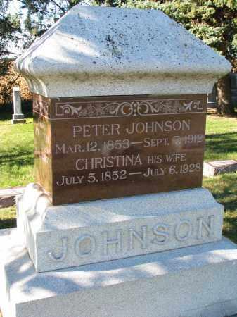 JOHNSON, PETER - Yankton County, South Dakota | PETER JOHNSON - South Dakota Gravestone Photos