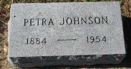 JOHNSON, PETRA - Yankton County, South Dakota | PETRA JOHNSON - South Dakota Gravestone Photos