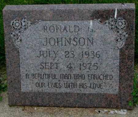JOHNSON, RONALD G. - Yankton County, South Dakota | RONALD G. JOHNSON - South Dakota Gravestone Photos
