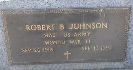 JOHNSON, ROBERT B. (WW II) - Yankton County, South Dakota | ROBERT B. (WW II) JOHNSON - South Dakota Gravestone Photos