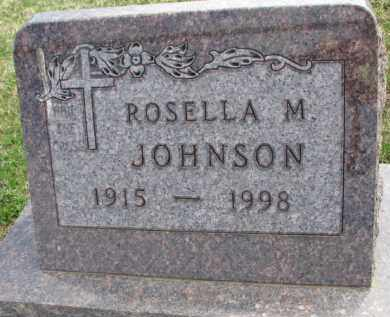 JOHNSON, ROSELLA M. - Yankton County, South Dakota | ROSELLA M. JOHNSON - South Dakota Gravestone Photos