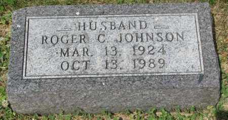 JOHNSON, ROGER C. - Yankton County, South Dakota | ROGER C. JOHNSON - South Dakota Gravestone Photos