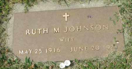 JOHNSON, RUTH M. - Yankton County, South Dakota | RUTH M. JOHNSON - South Dakota Gravestone Photos