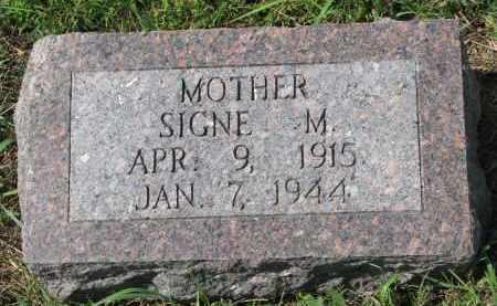 JOHNSON, SIGNE M. - Yankton County, South Dakota | SIGNE M. JOHNSON - South Dakota Gravestone Photos