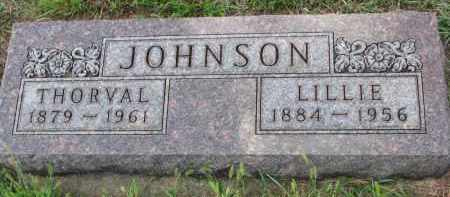 JOHNSON, THORVAL - Yankton County, South Dakota | THORVAL JOHNSON - South Dakota Gravestone Photos