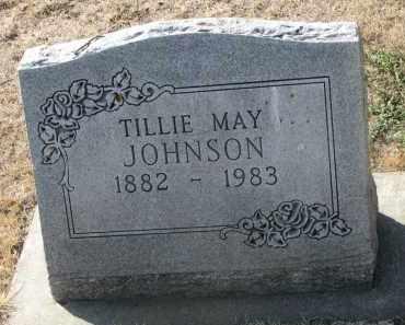 JOHNSON, TILLIE MAY - Yankton County, South Dakota | TILLIE MAY JOHNSON - South Dakota Gravestone Photos