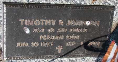 JOHNSON, TIMOTHY R. (MILITARY) - Yankton County, South Dakota | TIMOTHY R. (MILITARY) JOHNSON - South Dakota Gravestone Photos
