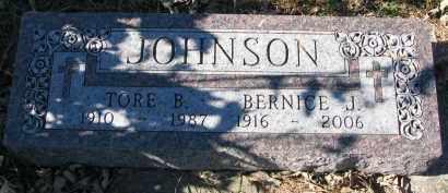 JOHNSON, BERNICE J. - Yankton County, South Dakota   BERNICE J. JOHNSON - South Dakota Gravestone Photos